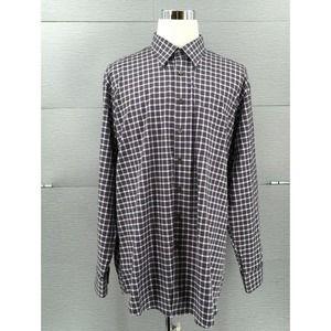 Scott Barber Men's Shirt Grey/Purple Size XXL NWT